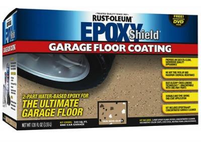 New Rustoleum Garage Floor Paint