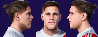 PES 2021 Faces Bruno Zuculini by Valentinlgs10