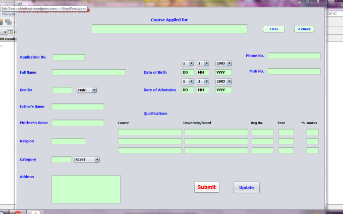Student management system project in core java free download