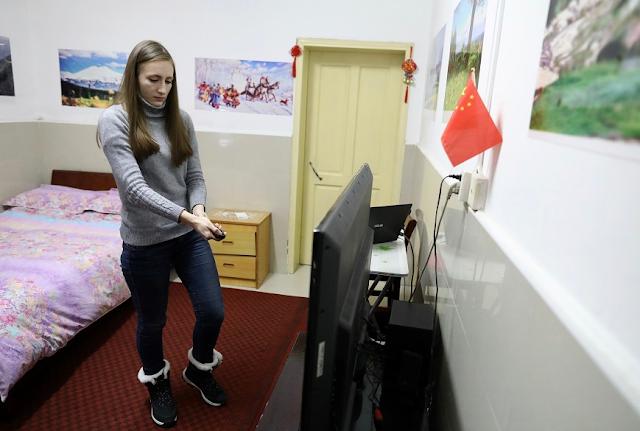 Русские в зараженном коронавирусом Ухани