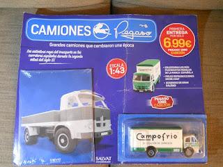 coleccion salvat de camiones pegaso
