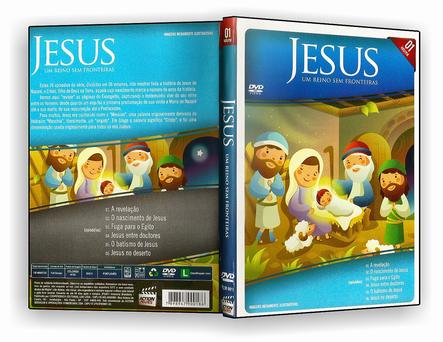 DVD Jesus, Um Reino Sem Fronteira 01 - ISO