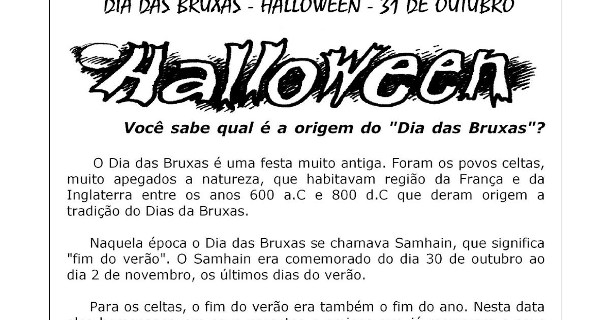 PINTANDO O SETE: 80 ATIVIDADES DIA DAS BRUXAS HALLOWEEN