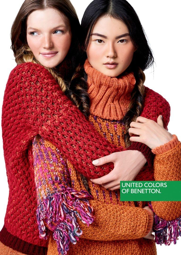 Asian models blog ad campaign cong he for united colors for United colors of benetton catalogo 2016