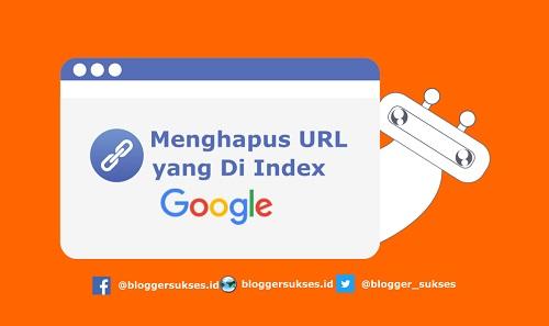 Cara Menghapus URL/Link Artikel yang Terindex di Google