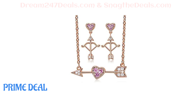 80%OFF CDE Cupid Love Necklace Set
