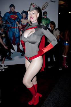 power girl red son cosplay