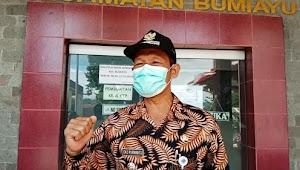 Camat Bumiayu Apresiasi Kinerja TNI Yang Sedang Membangun Di Wilayahnya