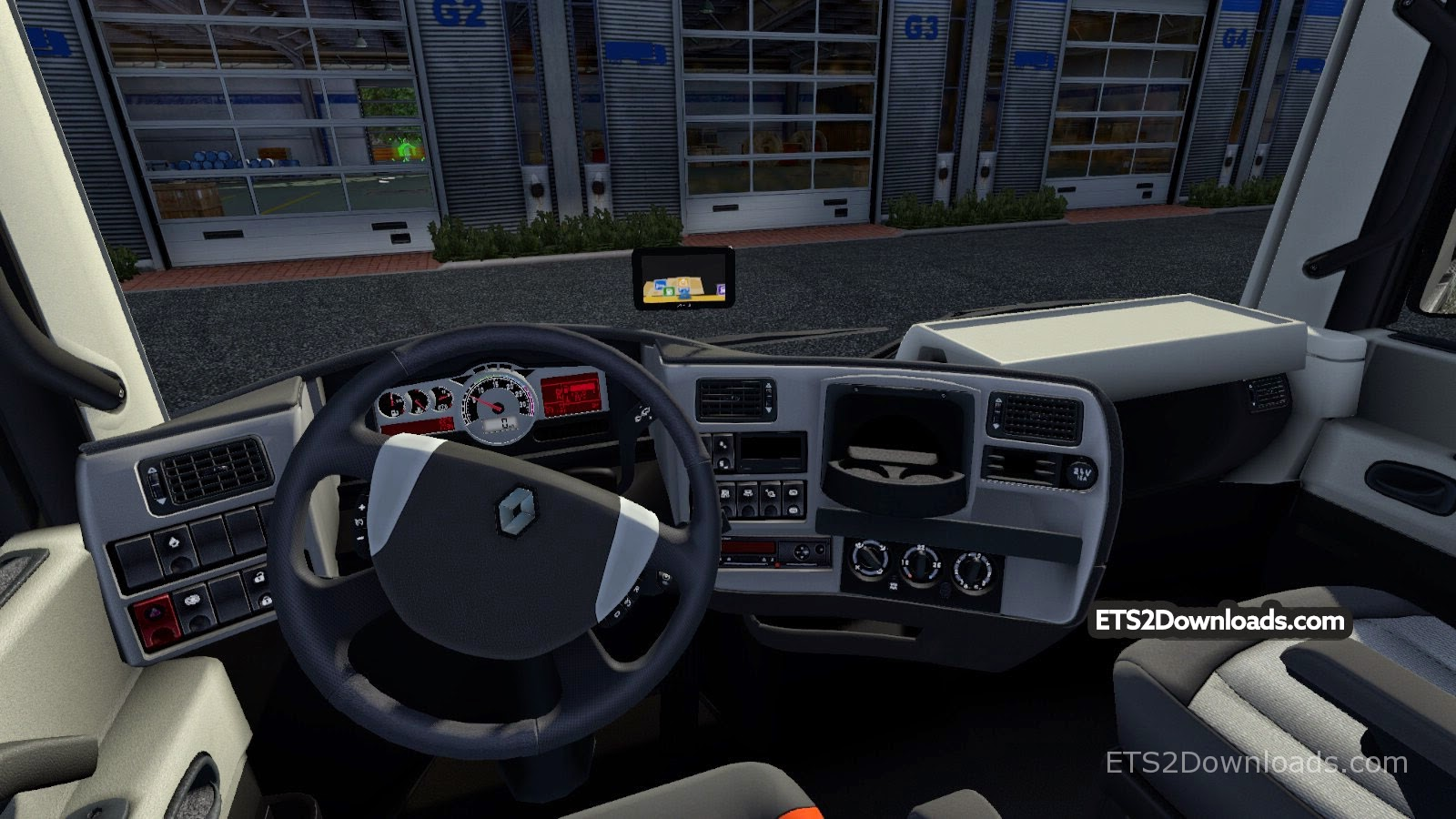 ets 2 мод renault magnum gps
