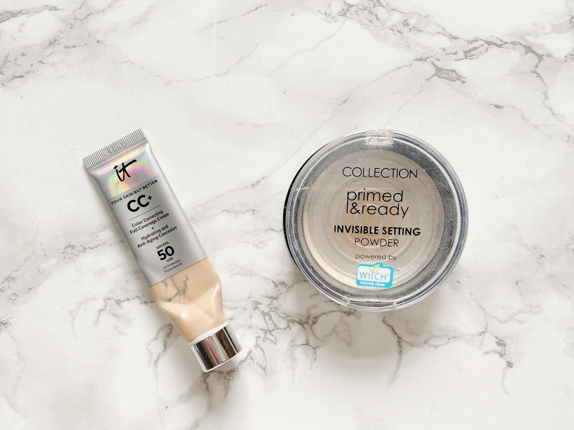 daniellesbeautyblog makeup empties it cosmetics cc review