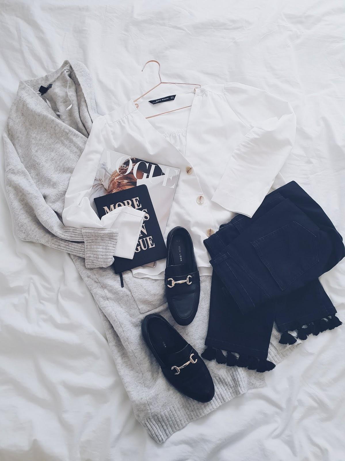 Sweater weather with buttons czyli kardigan i guzikowy trend w wersji jesiennej