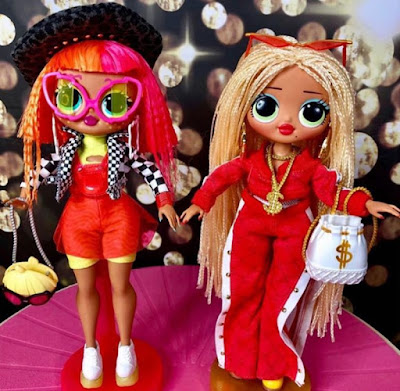 Neonlicious and Swag L.O.L. O.M.G. fashion dolls