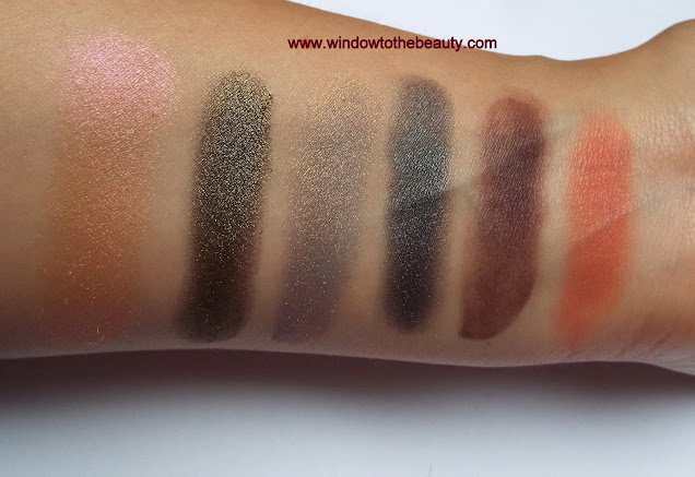 mug eyeshadows swatches