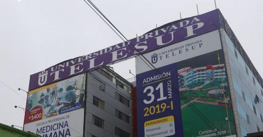 SUNEDU: Niegan licenciamiento a universidad TELESUP. Deberá cerrar en dos años - www.sunedu.gob.pe
