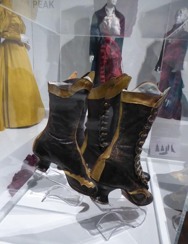 Edith Cushing Crimson Peak boots and their inspiration