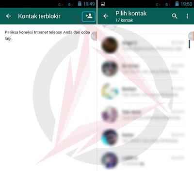 Cara Blokir Kontak Teman di WhatsApp