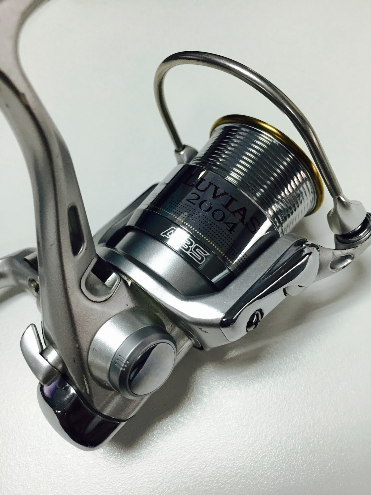 29674144b3d ... Daiwa Luvias 2004. More than a month ago, I got myself a new toy as a  project reel. It was one of those rare occasions when I open eBay and on  that ...