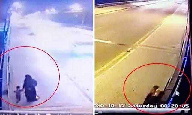 فظيع ومروّع : جريمة بشعة هزت العراق ... بالفيديو أم ترمي طفليها من أحد الجسور في نهر دجلة انتقاما من طليقها!