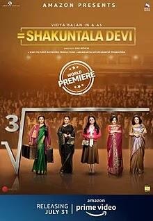 Shakuntala Devi(2020) full movie Download leaked by Tamilrocker,filmizilla