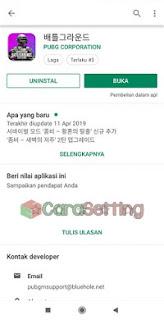 Cara download PUBG Korea di Playstore