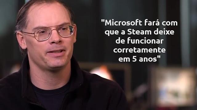 Microsoft quer abocanhar a Steam em 5 anos