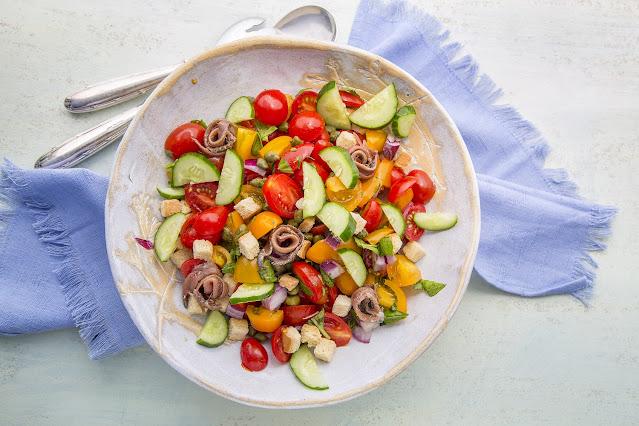 panzanella salada verão