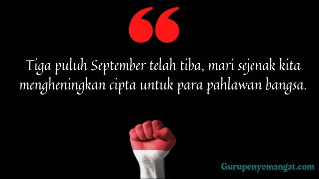 Kata-kata Mutiara G30S PKI Menyentuh Hati