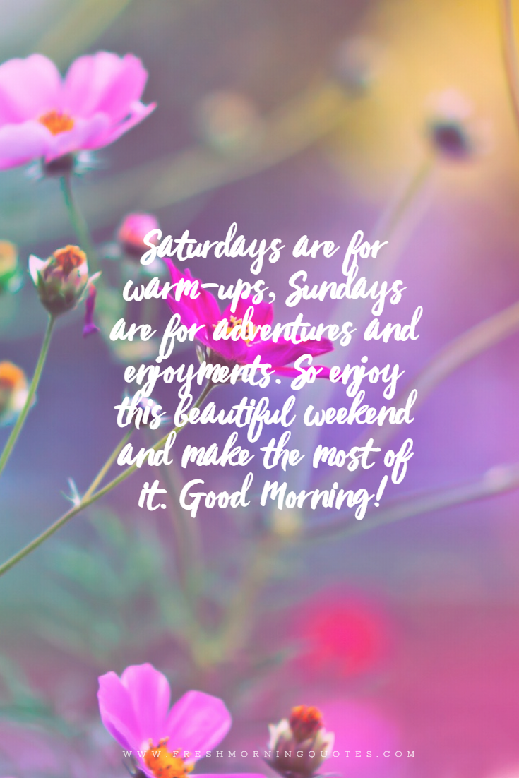 40+ Beautiful Good Morning Sunday Messages - Freshmorningquotes