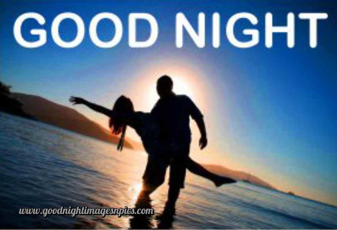 HD romantic  good night photo