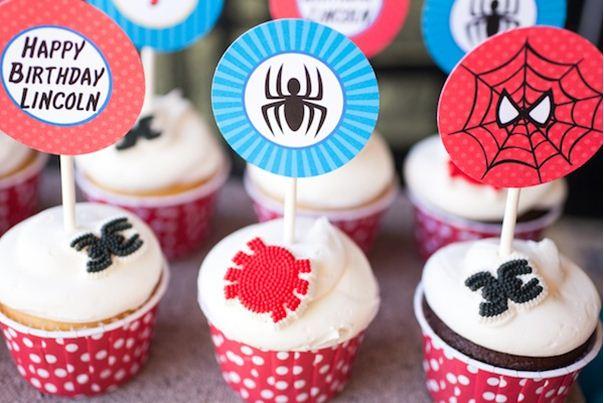 Foto Kue Ulang Tahun Spiderman