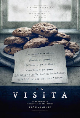 The Visit 2015 DVD R1 NTSC Latino