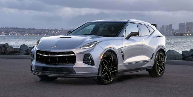 What If Chevy Made a Corvette SUV to Compete with the Porsche Cayenne?