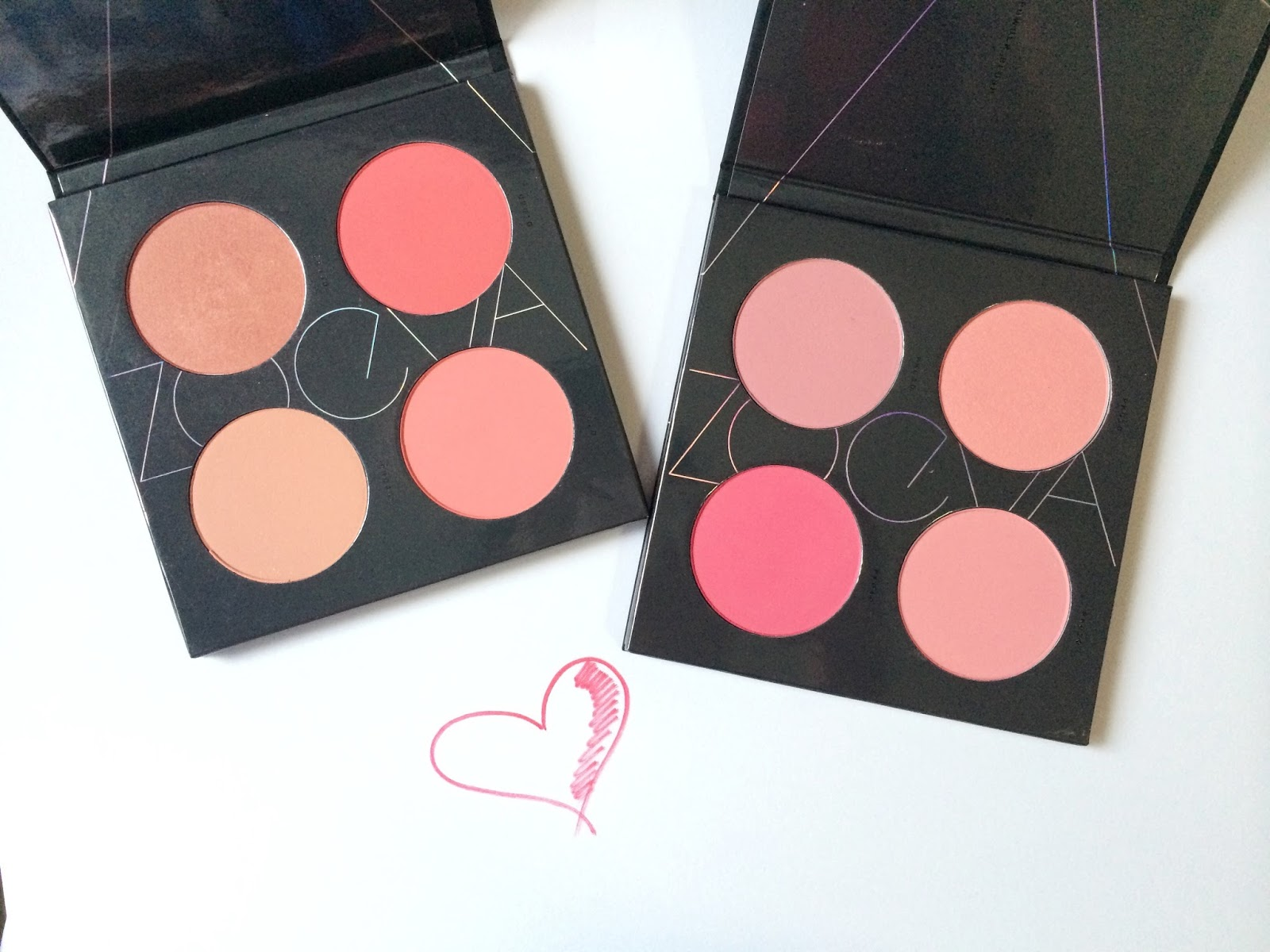 K A C E Y C H O Zoeva Spectrum Blush Palette In Coral Amp Pink