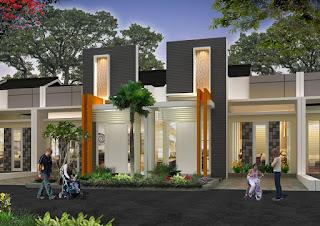 model tiang teras rumah modern
