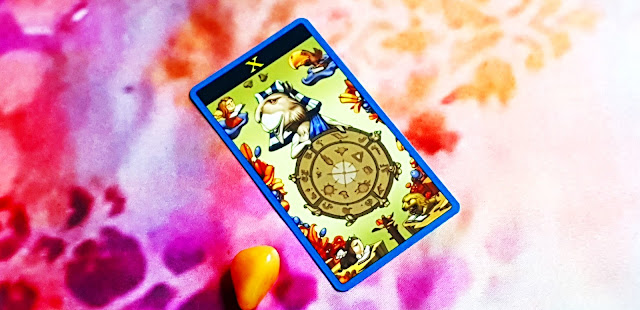 The Mibramig Magical Tarot - The Wheel Of Fortune