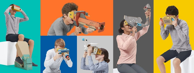news, game, games, gaming, Nintendo announced the Labo VR Kit to switch, Nintendo announced, Labo VR Kit to switch, Labo VR Kit, Labo VR Kit, new VR Toolkit, Nintendo Switch, new Labo VR Kit for Switch,