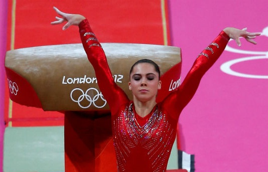 McKayla Maroney Performing gymnast in London Olympic 2012