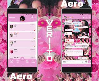 Rosas & Girls Theme For YOWhatsApp & Fouad WhatsApp By Veriito