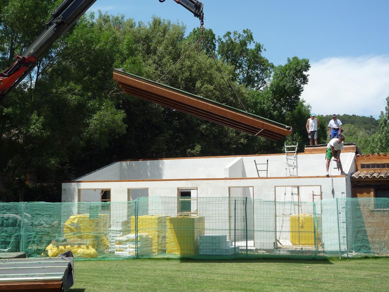 Casas de madera prefabricadas casas modulares girona for Casas prefabricadas ocasion
