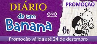 Promo: Eu quero os 5 livros da serie Diario de um Banana. 23