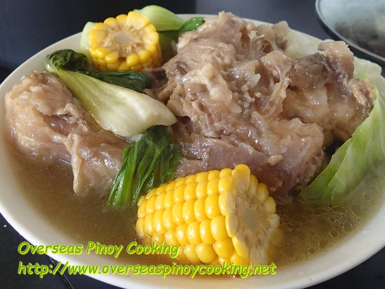 Litid Bulalo, Beef Tendon Soup