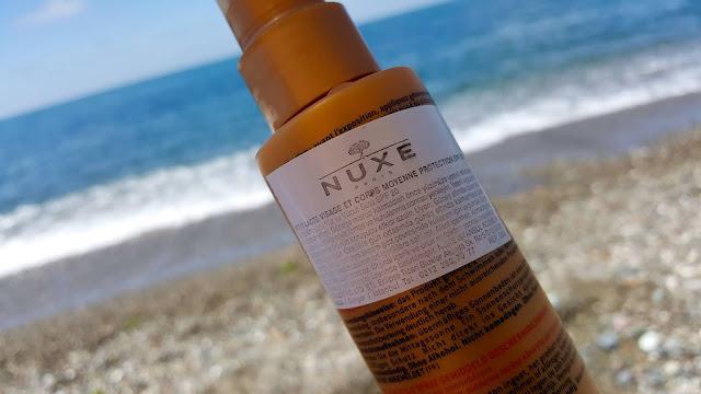 Nuxe Sun Güneş Koruyucu Yüz Ve Vücut Sütü Spreyi Spf 20