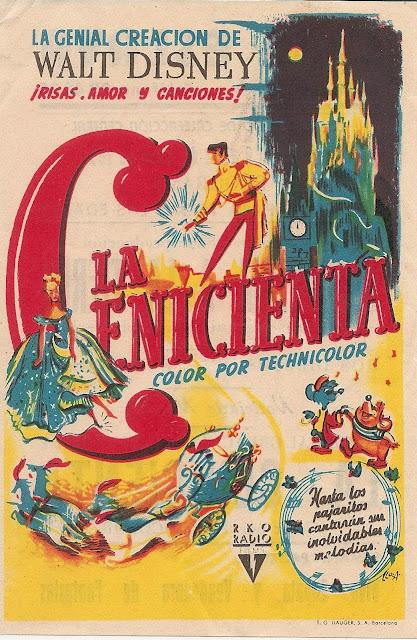 Programa de Cine - La Cenicienta - Walt Disney (1950)