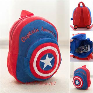 Tas Boneka Lucu Murah Karakter Captain America