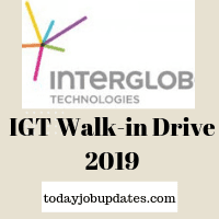 IGT Walk-in Drive 2019