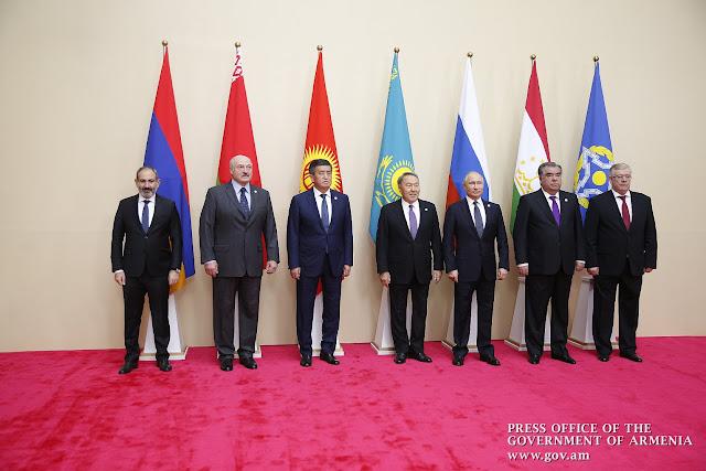 XII reunión de la OTSC celebrada en Ereván