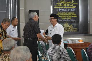 Wabup Berharap Komunikasi Pemkab dengan Pensiunan Terus Terjaga