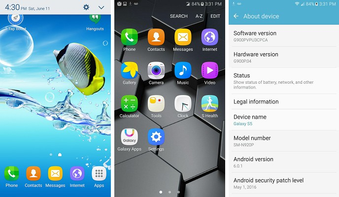Note 5 Ported Based on N920P Pure Rom For samsung Sprint