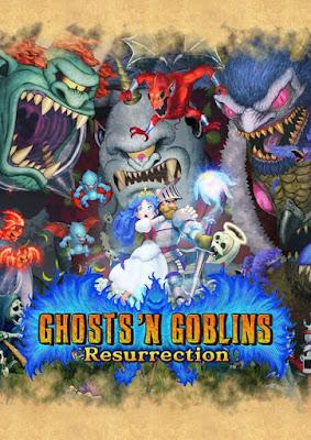 Capa do Ghosts 'n Goblins Resurrection
