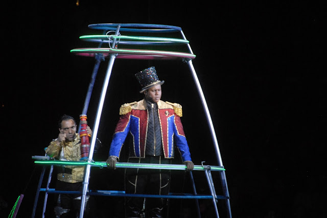Our #OutofThisWorld night with Ringling Bros and Barnum and Bailey Circus
